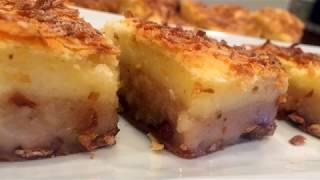 1-2-3 Red Bean u0026 Coconut Sticky Rice Cake紅豆椰絲年糕【只要記住1-2-3就能做出好吃的年糕,連老外都喜歡】
