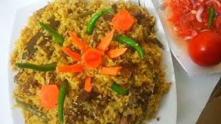 গরুর মাংসের ভূনা খিচুরি||Bangali Beef Vuna Khichuri Recipe||