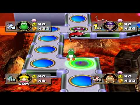 Mario Party 4 - Bowser's Gnarly Party [Part 1]