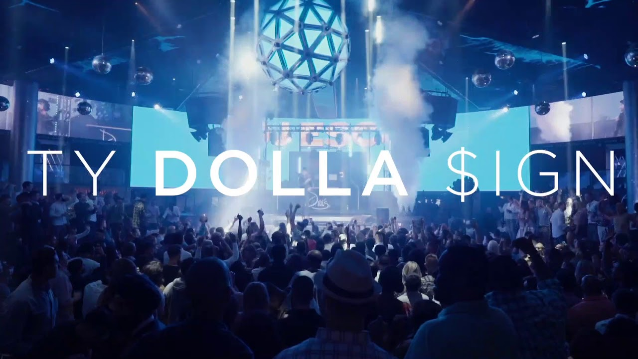 ty dolla sign - drais nightclub guest list bottle service las vegas - vegaspartycalendar.com