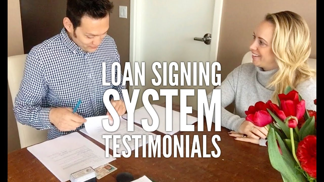 Loan Signing System - Notary Signing Agent Training Course - Reviews and  Testimonials