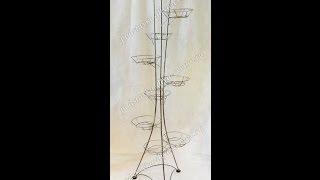 Башня 9 - подставка для цветов на 9 горшков(Башня 9 - подставка для цветов на 9 горшков. Узнать цены, купить или заказать оптом: http://podstavka-dlya-cvetov.ru/podstavka-napoln..., 2013-10-31T09:57:36.000Z)