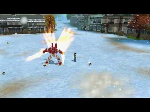 Digimon Masters Online - Agumon (Savers) - all evolutions and attacks