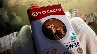 Масло Totachi после 8000 что стало с мотором... / Samapal