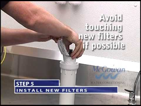 How To Change The The Millennium Reverse Osmosis Filters
