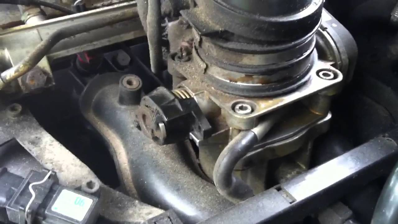 Mercedes electronic throttle  relearning idle