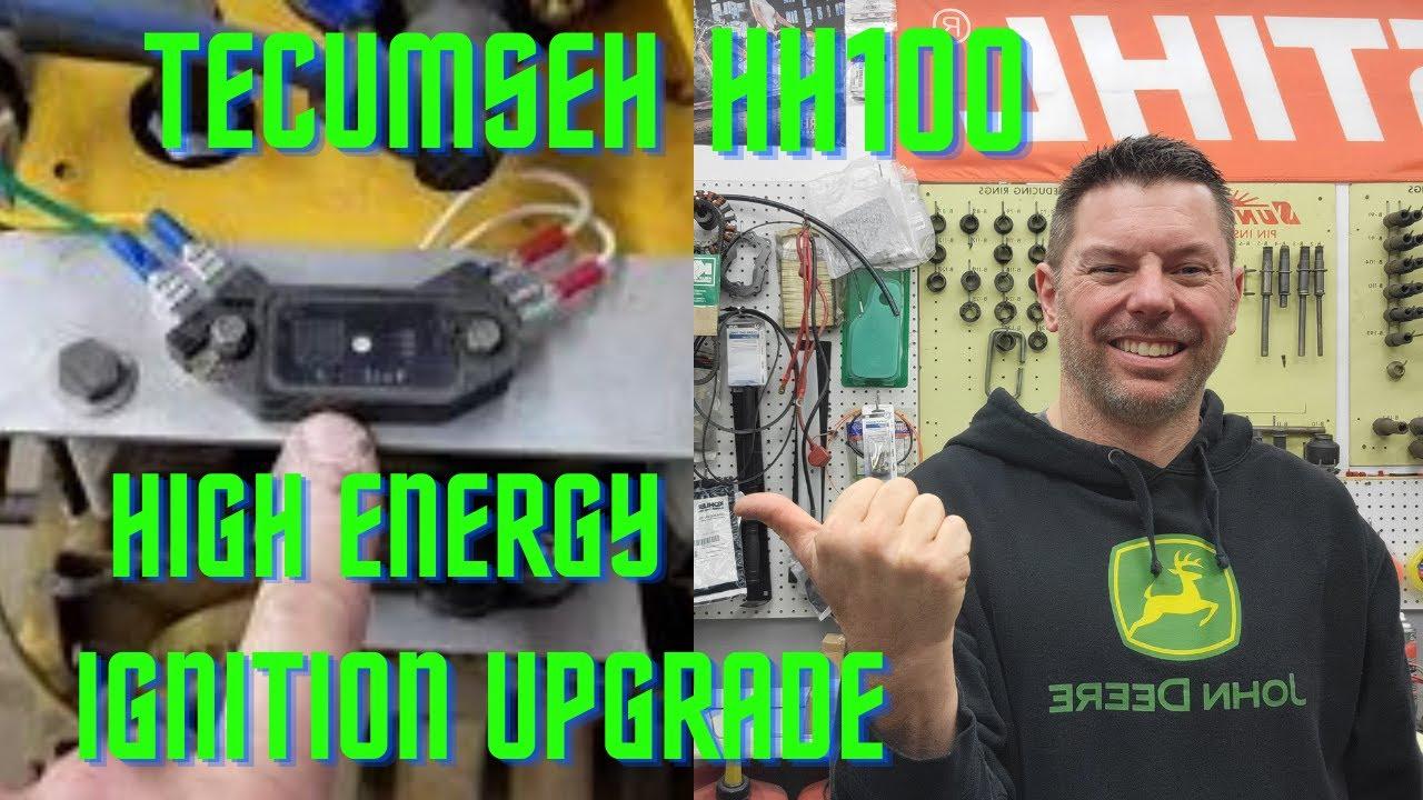 medium resolution of tecumseh hh100 high energy ignition upgrade