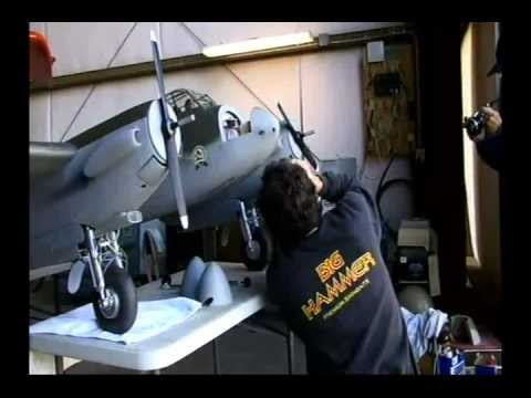 Tom Wolf's 1/5 Scale Mosquito