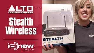 Alto Stealth Wireless UHF Speaker System Review Demo with DJ Rachel | I DJ NOW