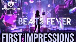 First Impressions of Beats Fever on PlayStation VR