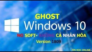 Ghost windows 10 version 1809 pro no soft link google drive