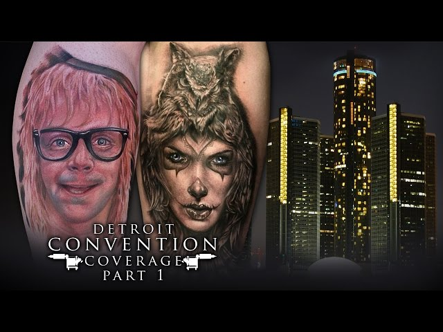 Tattoo Convention Coverage -Detroit Motor City Expo | Part 1 of 3