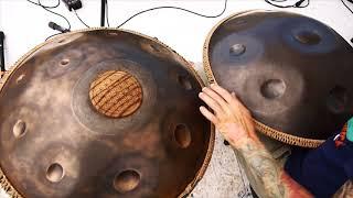 OMana Handpans - Jatamansi Pantam (ханг, hang drum, handpan, слушать музыку)