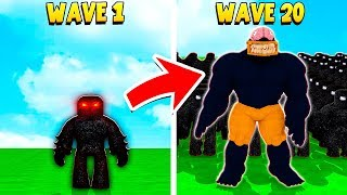 I had to Fight a MAX EVIL ARMY.. but I didn't know they had a SECRET BOSS.. (Roblox)