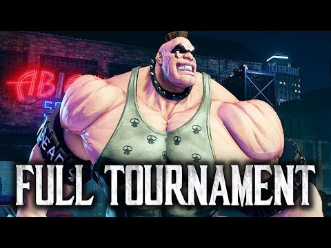 Street Fighter 5: SCC 2017 - Full Tournament! [TOP8 + Finals]