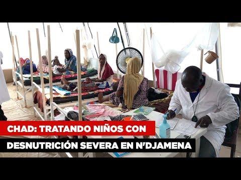 Chad Desnutricion en N'Djamena