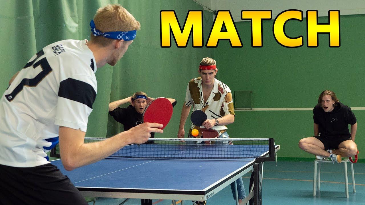 1 Hour Ping Pong Challenge
