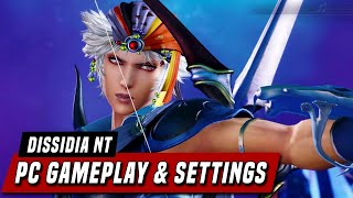 Dissidia Final Fantasy NT: Free Edition - PC Gameplay & Settings
