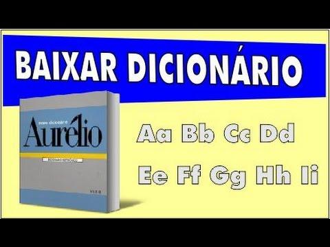 dicionario aurelio gratis para pc