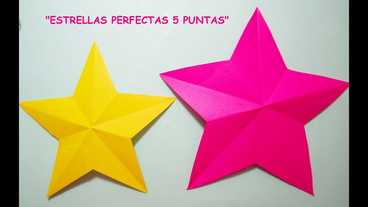 Como Dibujar Una Estrella Perfecta