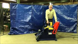 Butty Mfg Sw150 Side Wall Tire Cutter  Description
