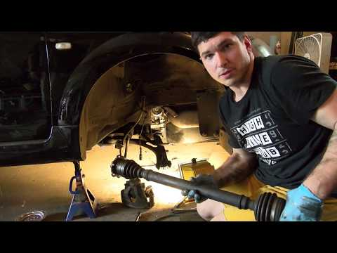 How to Replace the Axles on an Audi/VW
