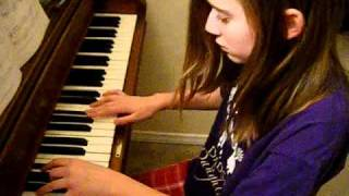 "Me Playing ""Airplanes"" by B.o.B and Haley Williams on the piano"