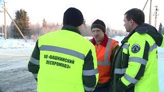 Лес Вашкинский леспромхоз