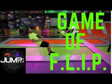 GAME OF F.L.I.P. - NO PARQUE DE CAMA ELASTICA