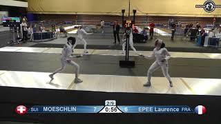 Novi Sad European Championships 2018 Day06 T16 WE SUI vs FRA