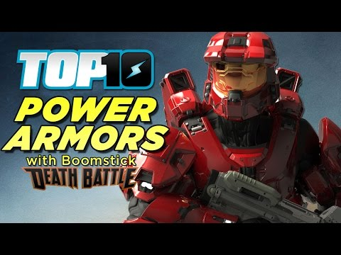 Top 10 Power Armors with Boomstick from DEATH BATTLE