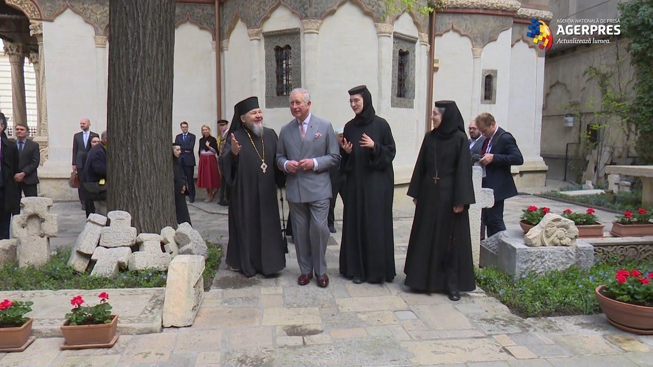 Prinţul Charles a ascultat muzică religioasă la Biserica Stavropoleos