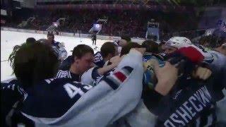 Last seconds of 2015-2016 KHL season