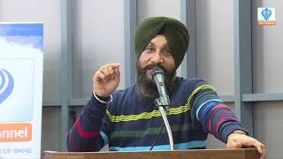 Dr. Sukhpreet Singh Udhoke at Gurdwara Guru Nanak Darbar Southall