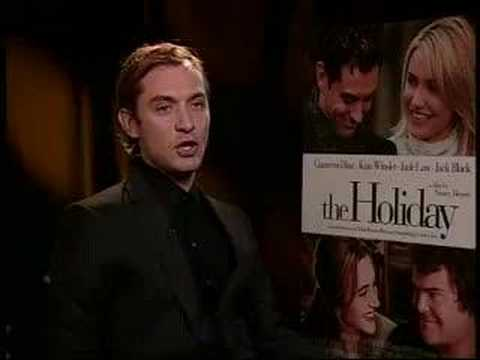 "Jude Law on ""The Holiday"""