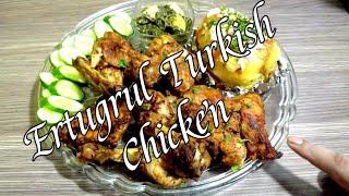 Recipe Of :Ertugrul Turkish Chicken  By Asra Saad Kitchen