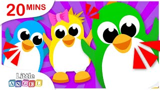 5 Little Penguins, Where is my Coat?, Yum Yum Vegetables, Nursery Rhymes by Little Angel