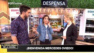 La talentosa actriz Mercedes Oviedo fue jurado de El gran premio de la cocina