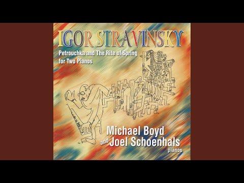 Petrushka (version for 2 pianos) : Tableau I: The Shrovetide Fair