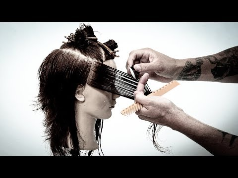 Shag Layered Haircut Tutorial With A Razor | MATT BECK VLOG