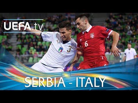 Futsal EURO highlights: Serbia v Italy