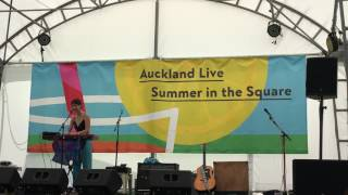 """Weyes Blood, """"Seven Words"""", Live at Aotea Square, Auckland, New Zealand"""