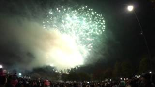 Leicester diwali fireworks 2015