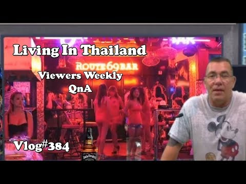 Living in Thailand Viewers QnA (Building a house for a Thai Wife/Tipping)