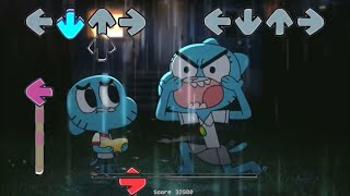 Gumball in Friday Night Funkin vs Mom cat )) FNF ( fridaynightfunkin )
