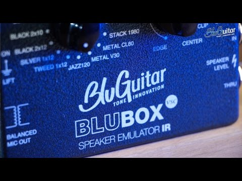 BluGuitar BluBOX Impulse Response Speaker Emulator | Sweetwater