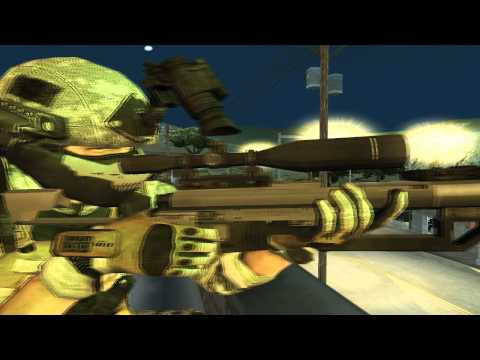 [GTA SA] [Sniper in Special US Forces] |HD720p|