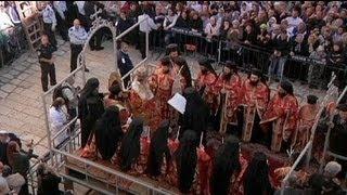 Ortodokslar Paskalya'yı kutluyor
