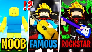 NOOB to FAMOUS to ROCKSTAR in Roblox BROOKHAVEN RP!!