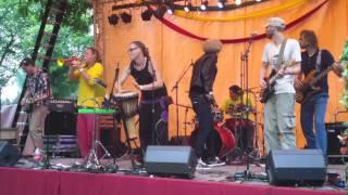 ALL STARS CONFUSION  Roepaen Reggae Festival   2013 part 1